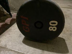 80 lbs fix ez curl bar GPI brand FIRM PRICE for Sale in Fullerton, CA