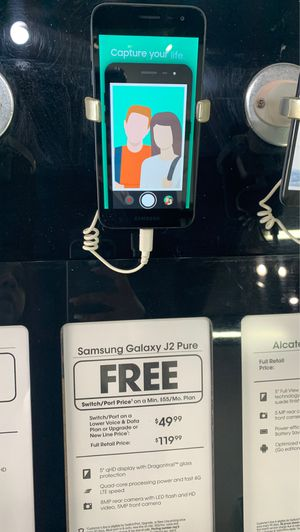SAMSUNG J2 PURE FREE WHEN YOU SWITCH for Sale in Phoenix, AZ