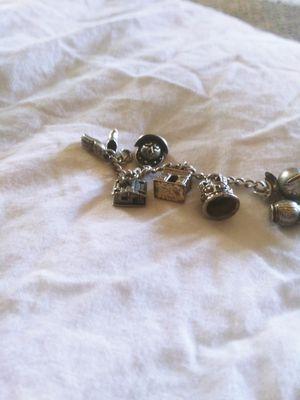 Vintage sterling silver charm bracelet for Sale in Dixon, CA