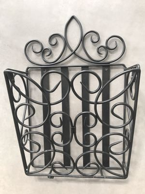 Wall hanging magazine rack with screws for Sale in Sterling, VA