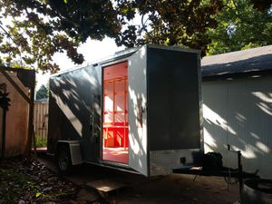 2018 Haulmark 6x12 cargo camper hybrid trailer for Sale in Virginia Beach, VA