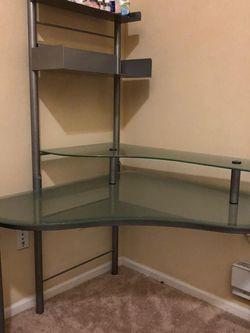 Multipurpose Glass Desk for Sale in Bellevue,  WA