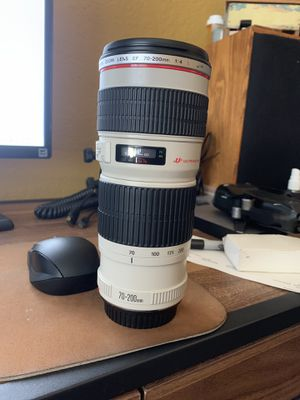 Canon EF 70-200 f4 no IS used for Sale in Lubbock, TX