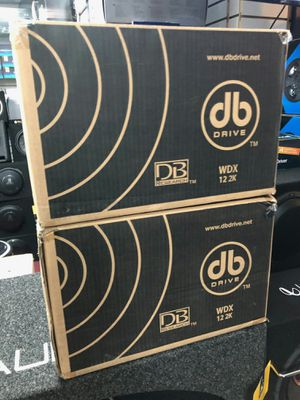 Db drive wdx 12 2k on sale today message us for the best deals in la today for Sale in Downey, CA