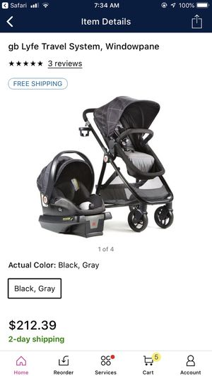 Brand New in box GB lyfe stroller system for Sale in Lorton, VA