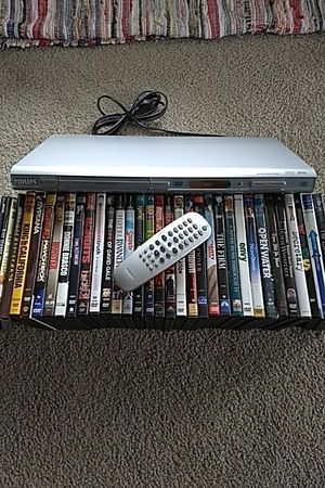 35 DVDs /w a Philips DVD player for Sale in Tualatin, OR