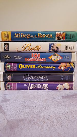Six Classic Kid's VHS Movies for Sale in Wilton Manors, FL