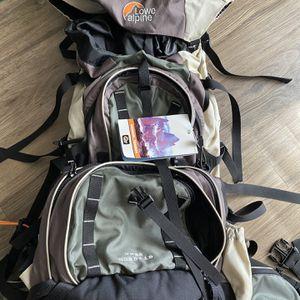 Lowe Alpine Vega 65+15 Hiking Backpack for Sale in San Antonio, TX