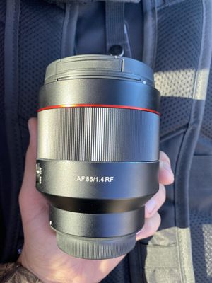 Rokinon / Samyang 85mm 1.4 AF for Canon RF for Sale in Virginia Beach, VA
