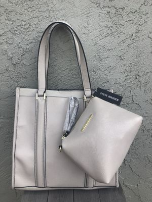 Steve Madden tote with makeup bag for Sale in Benicia, CA