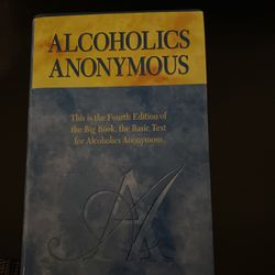 """Alcoholics Anonymous """"Big book"""" for Sale in City of Industry,  CA"""