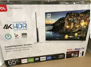 "65S513 65"" TCL UHD 4K SMART HDR for Sale in Chino, CA"