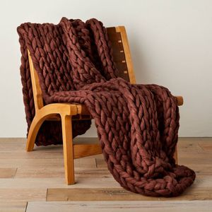 Casaluna Oversized Chunky Hand Knit Decorative Bed Throw for Sale in Huntington Beach, CA