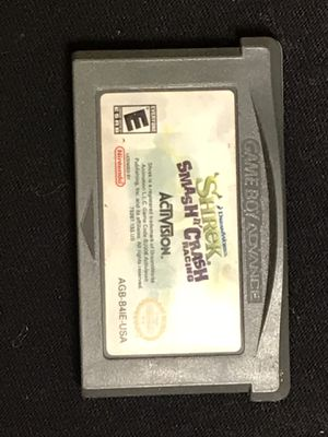 GAMEBOY ADVANCE GAME SHRECK CRASH RACING for Sale in Roff, OK