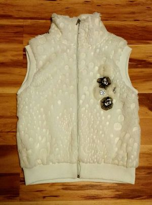 Faux fur turtleneck vest for Sale in Centreville, VA