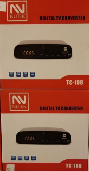 Digital tv converter box for Sale in Moreno Valley, CA