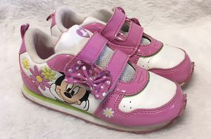 Minnie Mouse toddler girls size 11 shoes for Sale in Berwyn, IL