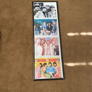 Beatles Framed Pictures $45 for Sale in Port St. Lucie, FL