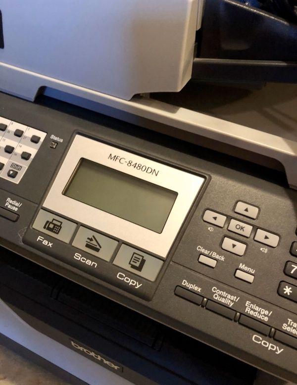 Brother MFC-8480DN B/W Laser Printer, Scanner, Fax