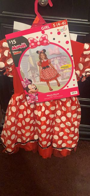 Minnie mouse costum for Sale in Oakland, CA