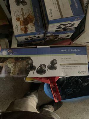3 pack small LED light for Sale in Morgantown, WV
