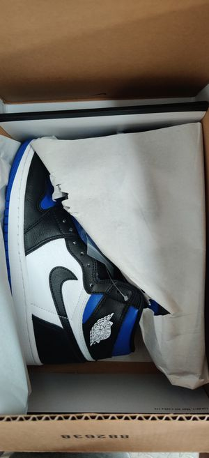 Jordan 1 royal toe size 7.5 for Sale in Cumberland, RI