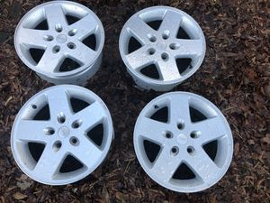 Jeep Wrangler wheels for Sale in Raleigh, NC