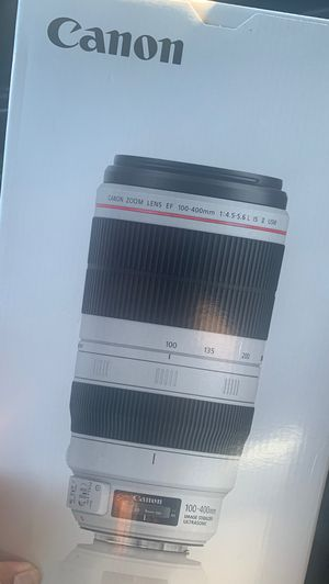 Cannon 100-400mm IS II USM for Sale in Dallas, TX