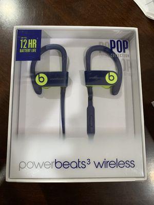 Powerbeats 3 Wireless green for Sale in Fresno, CA
