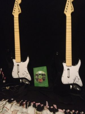Xbox 360 rock band guitars & game for Sale in Vancouver, WA