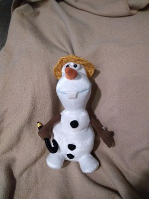Brand New (with tag): Olaf that sings for Sale in Canton, OH