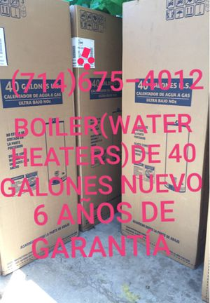 BOILER(WATER HEATERS)DE 40 GALONES NUEVO DE LA MARCA RHEEM!!!! for Sale in Santa Ana, CA