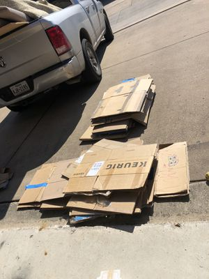 Free moving boxes for Sale in McKinney, TX