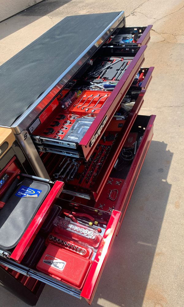 Snap on tool box fully loaded