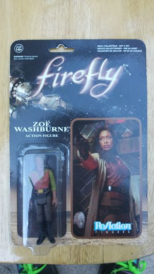 Firefly. Zoe Washburne Action Figure for Sale in Austin, TX
