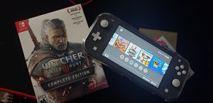 Switch Lite and The Witcher 3 for Sale in Somerville, MA