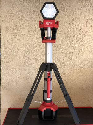 Milwaukee M18 18-Volt Lithium-Ion Cordless Rocket Dual Power Tower Light (Tool-Only) - New Open Box for Sale in Fontana, CA