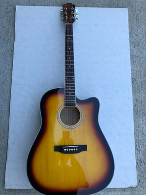 41 inch Acoustic Electric Guitar w/ Amplifier for Sale in Broadview Heights, OH