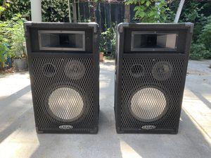 "DIGITAL PRO AUDIO - DPA 312 Cabinet Speakers 17"" Wide PA DJ 350 Watts for Sale in Los Angeles, CA"