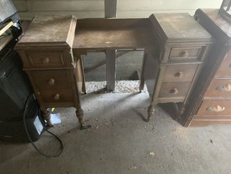 Vintage antique desk armoire for Sale in Vancouver,  WA