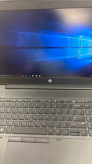 Hp z book for Sale in Houston, TX