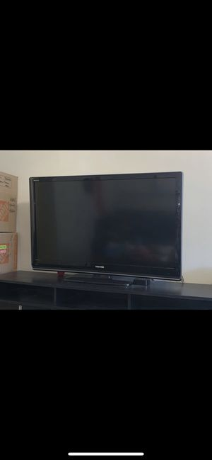 Large TV and Nice Universal Remote with Video Screen for Sale in Washington, DC