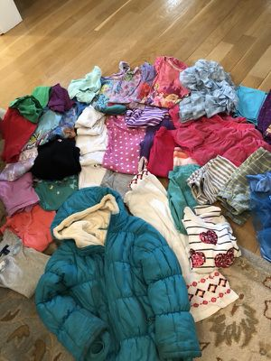 Girls jacket, clothes and Cinderella dress (ages 6-8) for Sale in Chevy Chase, MD