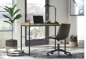 Gerdanet - Light Brown - Home Office Desk with Swivel Chair for Sale in Naples, FL