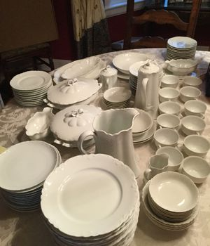 Beautiful antique collection of fine China from Austria, Germany, and France. In excellent condition. Some pieces, such as the pitcher, are worth o for Sale in Lake Forest, IL