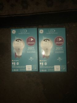 GE LED One Bulb Bluetooth Speaker for Sale in Portland,  OR