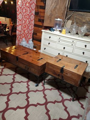 Rustic coffee tables set for Sale in San Diego, CA