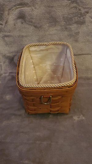 Longaberger basket- Reduced for Sale in Tempe, AZ