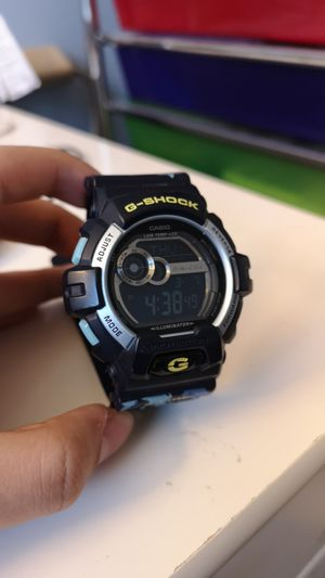 Casio G-Shock G-lide Blue Camo for Sale in Germantown, MD