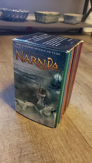 The Chronicles of Narnia Book Set Paperback for Sale in Norfolk, VA